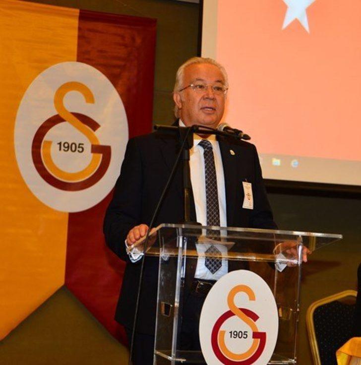 Galatasaray Divan Kurulu Başkanlığına Eşref Hamamcıoğlu seçildi