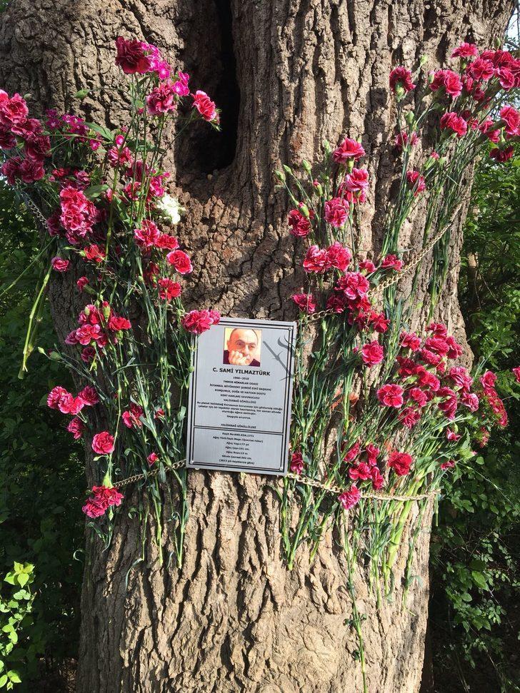 Validebağ Gönüllüleri'nden Sami Yılmaztürk anısına plaket