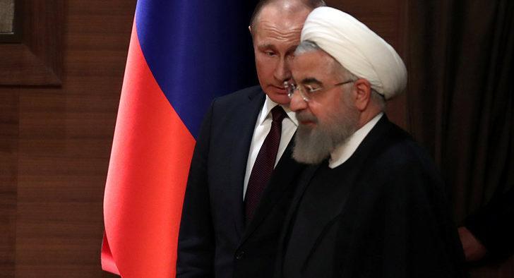 Rusya ve İran arasında kritik görüşme! Putin İran Cumhurbaşkanı Ruhani'yi aradı
