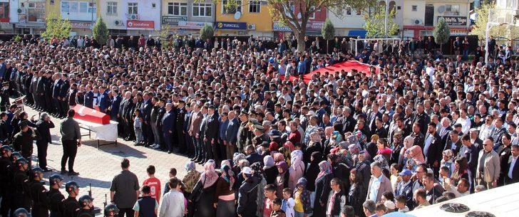 Şehit Uzman Çavuş, Yozgat'ta gözyaşlarıyla uğurlandı