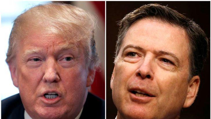 Trump'a Göre Comey Hapse Atılmalı