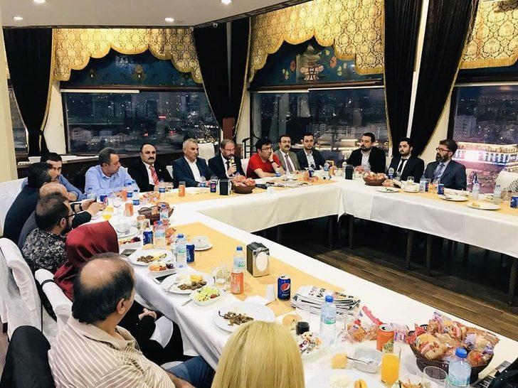 Keçiören Ak Parti İlçe Başkanı Şükrü Özek: