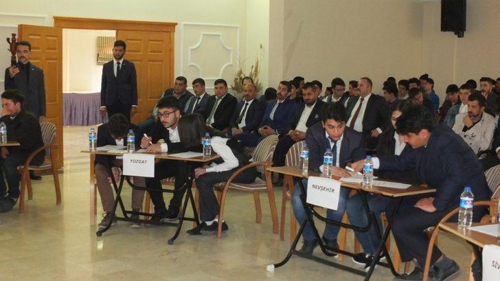 Ülkücüler, bilgi yarışması için Nevşehir'de buluştu