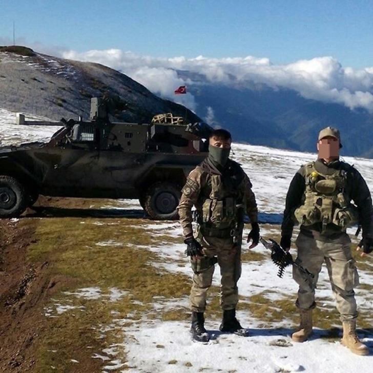 Jandarmanın en seçkin timleri Karadeniz'de operasyon başlattı