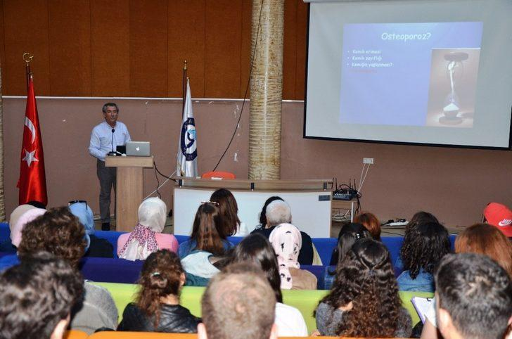 Prof. Dr. Şendur, Osteoporoz'u anlattı