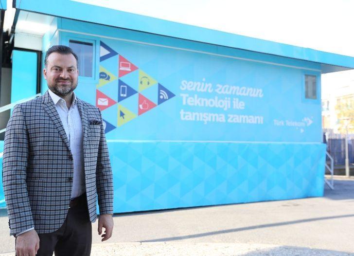 Türk Telekom Teknoloji Seferberliği'nin İlk durağı Erzincan oldu