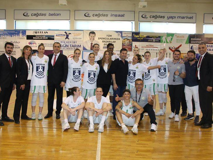 Bodrum'un Süper Lig sevinci
