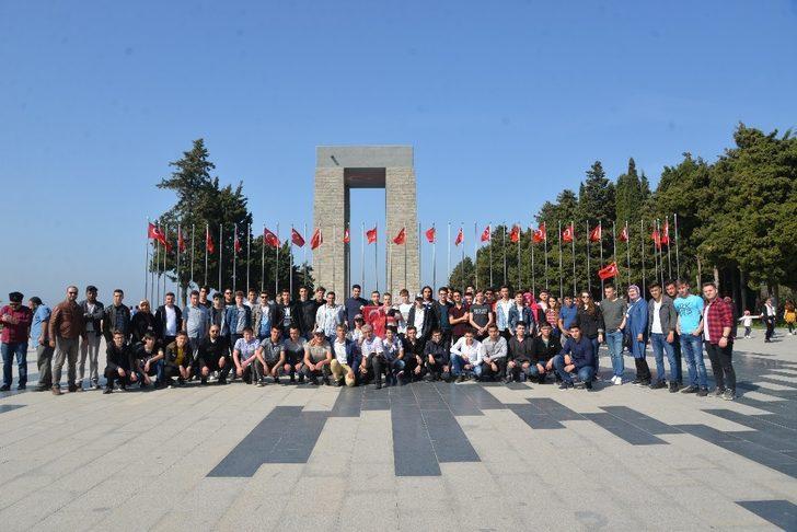 Bilecik'ten Çanakkale'ye tarih gezisi