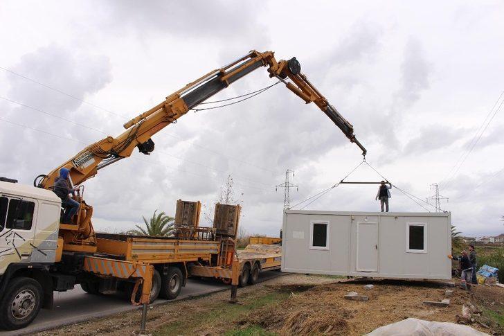 Büyükşehir'den 87 vatandaşa konteyner desteği