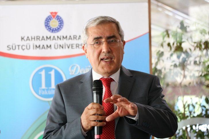 """KSÜ Rektörü Prof. Dr. Can: """"Yöneticiler de  eğitim sürecinden geçmeli"""""""
