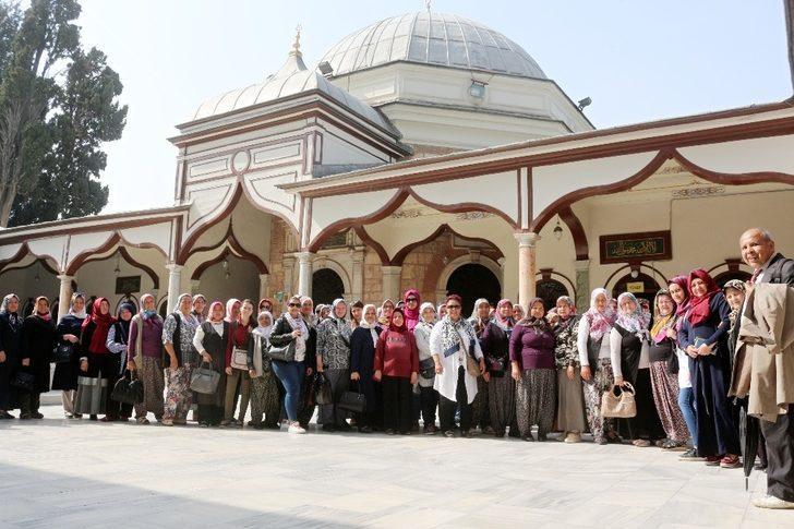 Sarıcakayalı kadınların Bursa'ya kültür gezisi