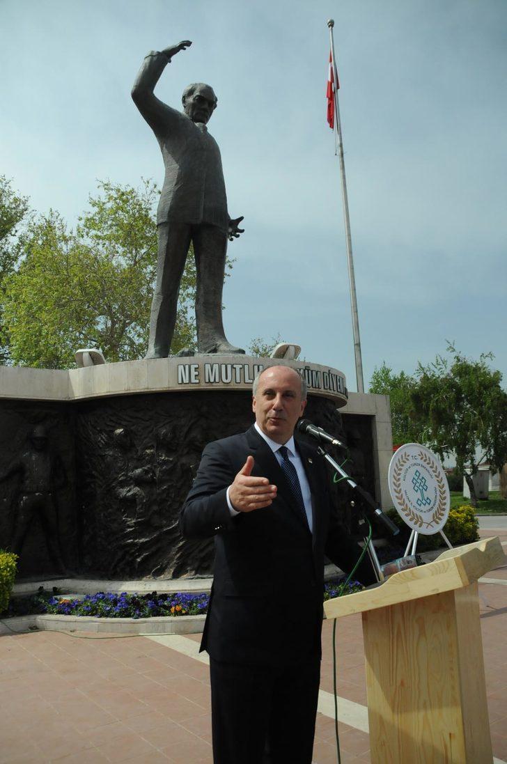 CHP'li İnce: Milim geri adım atmış değilim
