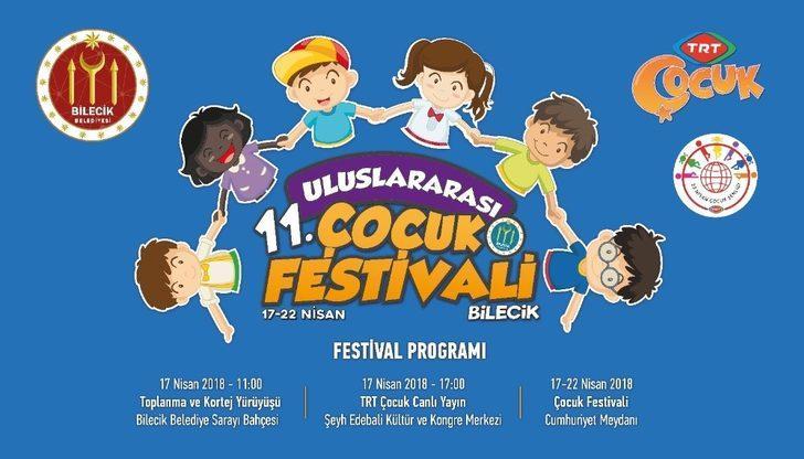 11. Uluslararası Çocuk Festivali kortej yürüyüşü ile başlıyor