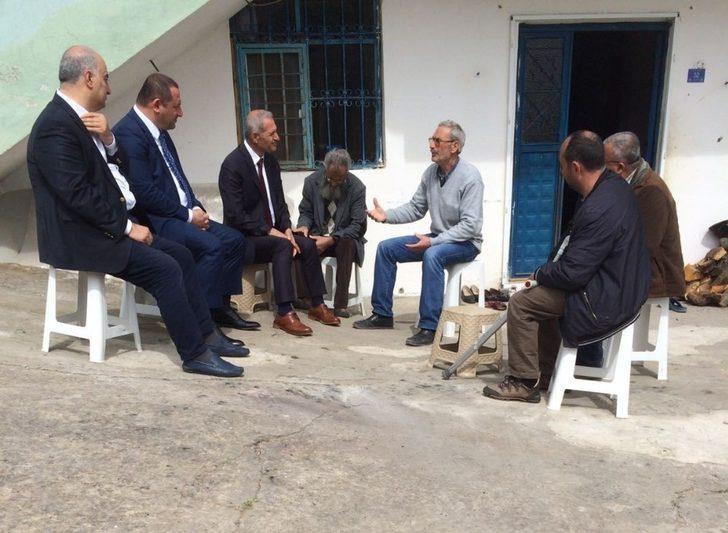 Başkan Dişli'den şehit ailesine ziyaret