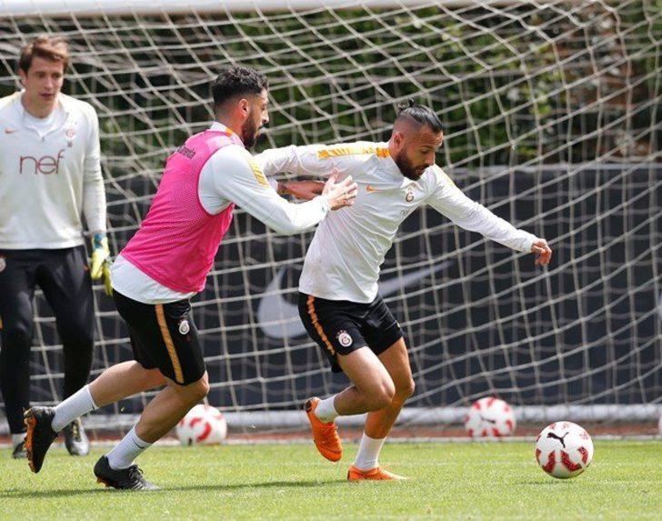 Galatasaray'da Akhisarspor maçı hazırlıkları başladı