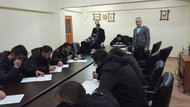 Avcı Eğitim kursunu tamamlayanlara sertifikaları verildi