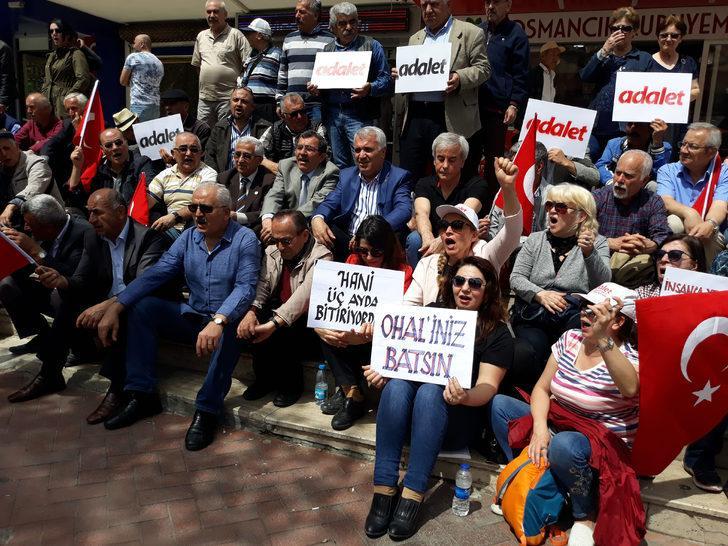 CHP'den Isparta'da oturma eylemi