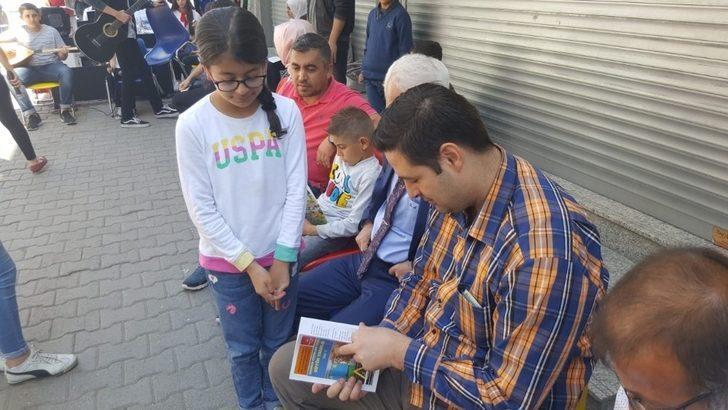 Bismil'de 'Kitap okuma ve sanat festivali'