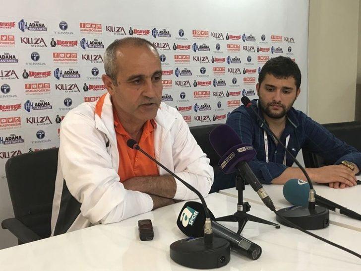 """Eyüp Arın: """"Boluspor maçını hakem faciası ile kaybettik"""""""