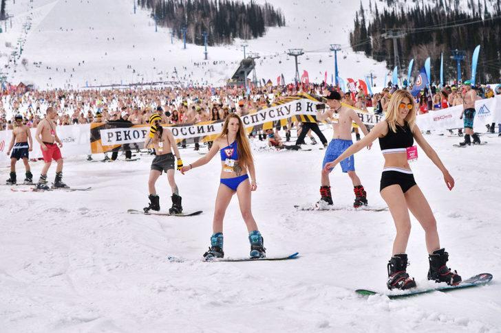 Festivalin katılımcıları ayrıca bölgedeki doğal güzellikleri yaşamak ve oksijen dolu hava almak için de geliyor.