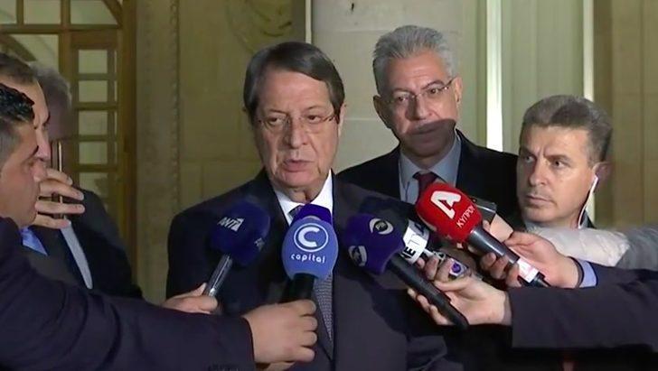 Rum Lider Anastasiadis: BM yeni bir süreç için devreye girebilir