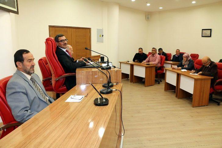 Erzincan İl Genel Meclisi Nisan ayı toplantıları tamamlandı