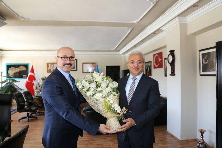 İl Kültür ve Turizm Müdüründen Başkan Başsoy'a ziyaret