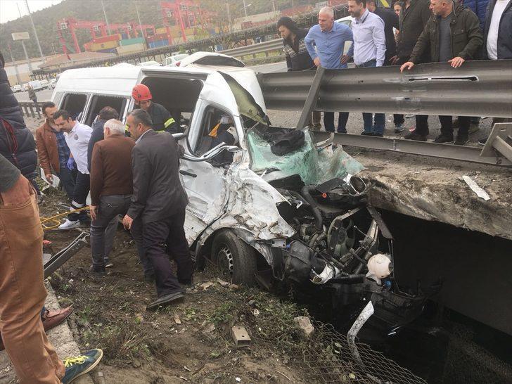 Kocaeli'de trafik kazası