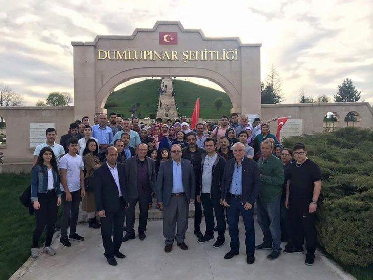 Ege Bölgesi Kütahyalılar Federasyonu Dumlupınar'a gezi düzenledi