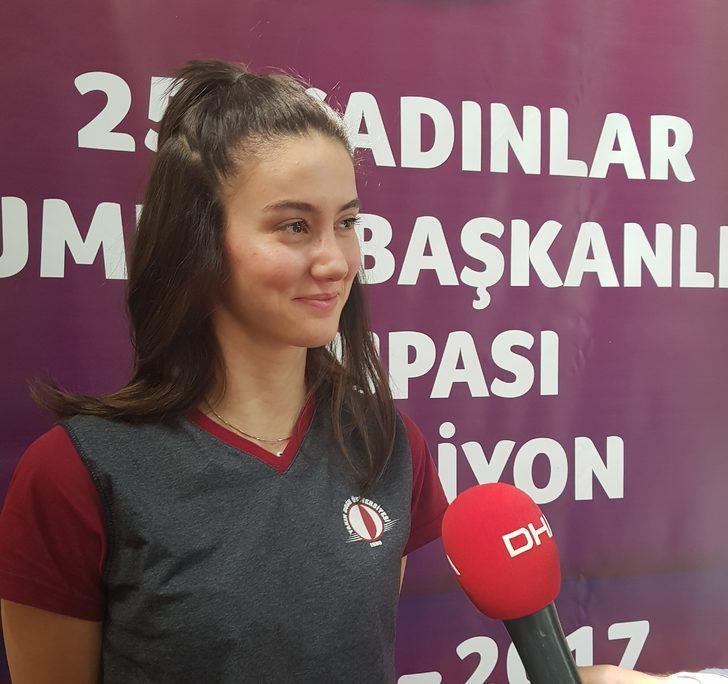 """Olcay Çakır: """"Önemli olan Türkiye'yi temsil etmek"""""""