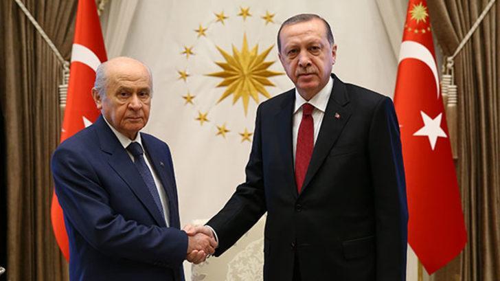 Bahçeli ve Erdoğan'dan erken seçim zirvesi!