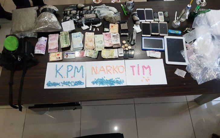 Gaziantep'te uyuşturucu operasyonu: 2 tutuklama