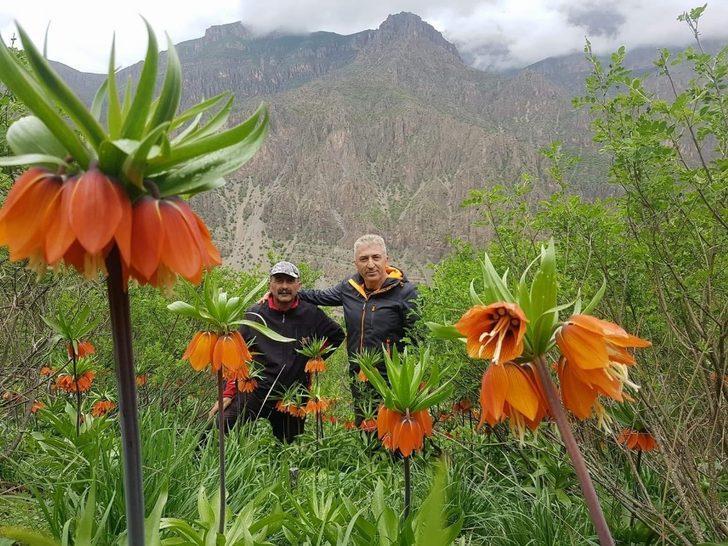 Hakkarili dağcılar Çiçek Vadisine ziyaret