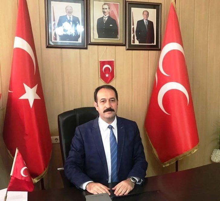 """MHP Osmaniye İl Başkanı Loş: """"Seçime hazırız"""""""