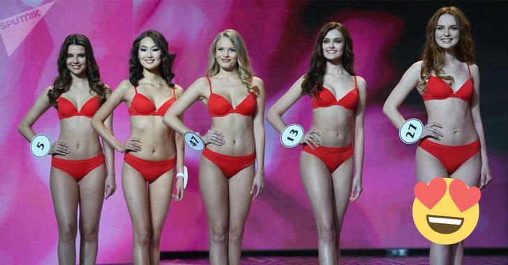 Miss Rusya 2018 yarışmasının birincisi Türk kızı oldu