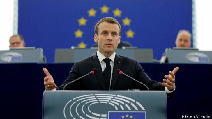 Macron'dan reformlarda ivedilik çağrısı