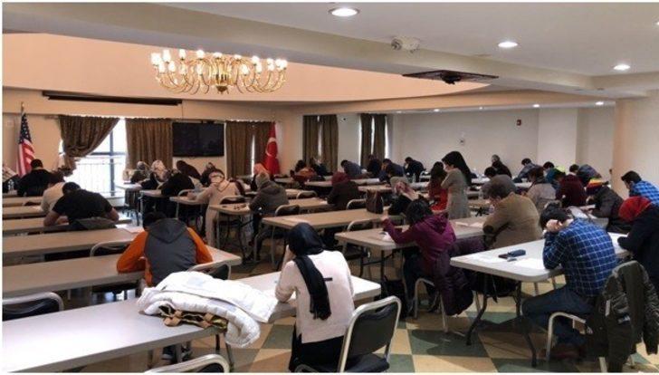 Kuzey Amerika Programı sınavları gerçekleştirildi