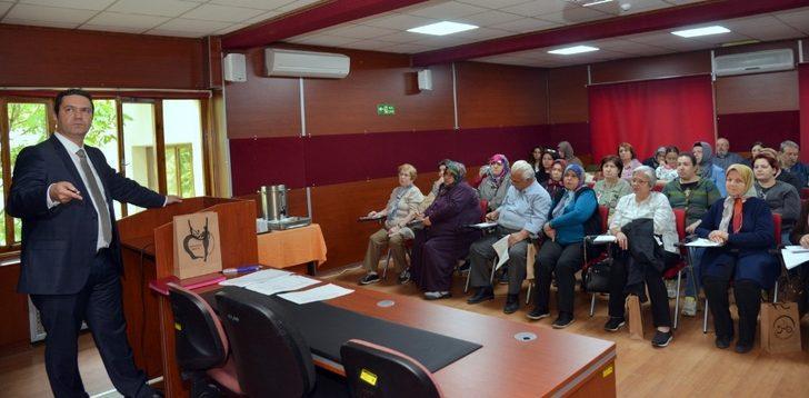 Obezite okulu açıldı, il dersi Dr. Bilge verdi