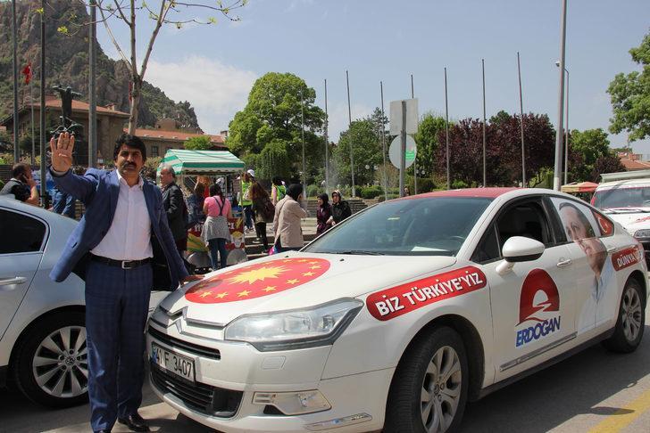 Erdoğan'a destek için 5'inci Türkiye turu