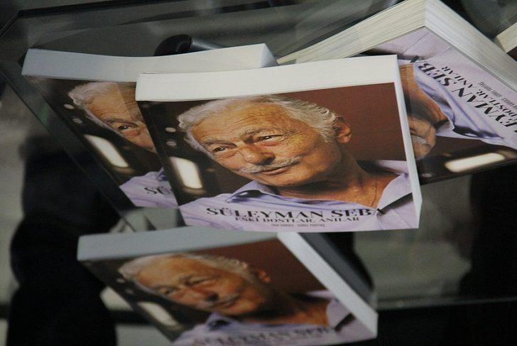 'Süleyman Seba Eski Dostlar ve Anılar' kitabı tanıtıldı FOTOĞRAFLAR