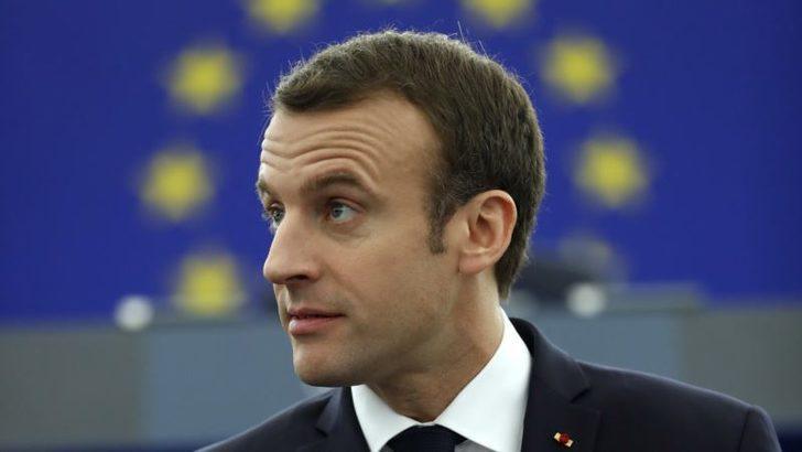 Macron AB Projesini Avrupalı Milletvekillerine Anlattı
