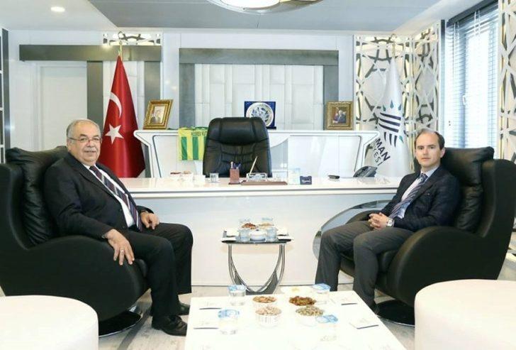Vali Yardımcısı Yasin Yunak'tan Belediye Başkanı Kutlu'ya ziyaret