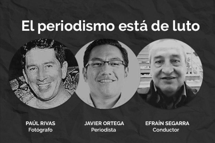 Detenidos por muerte de periodistas recluidos en cárcel de máxima seguridad