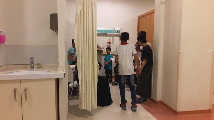 Şanlıurfa'da 12 öğrenci tatlıdan zehirlendi