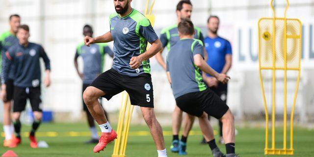 Atiker Konyaspor, Kasımpaşa maçının hazırlıklarını sürdürüyor