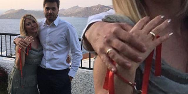 Seray Sever ve Eray Sünbül nişanlandı! Bu akşam nikah var!