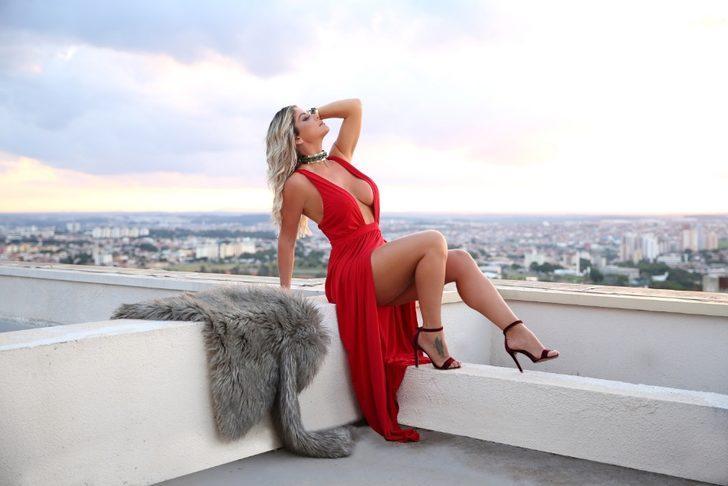 Bordin, Brezilya'nın en ünlü modellerinden biri olmasının yanı sıra sosyal medyada da en çok takip edilen isimlerden...