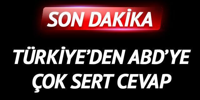 Türkiye'den ABD'ye çok sert OHAL cevabı