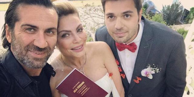 Seray Sever ve  Eray Sünbül evlendi
