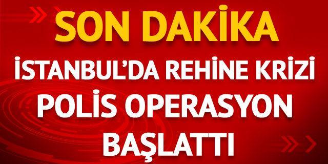 İstanbul'da hareketli dakikalar! Bir şahıs börekçide 2 kişiyi rehin aldı